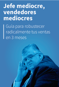 Jefe mediocre, vendedores mediocres